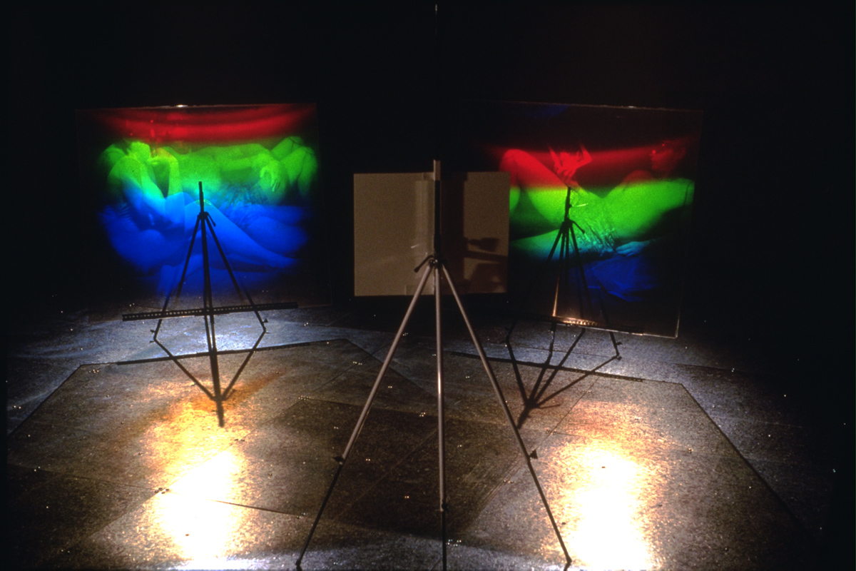 """Aire technoculturelle"", 1991 Exhibition at the Cité internationale des arts et nouvelles technologies, Montréal, Qc"