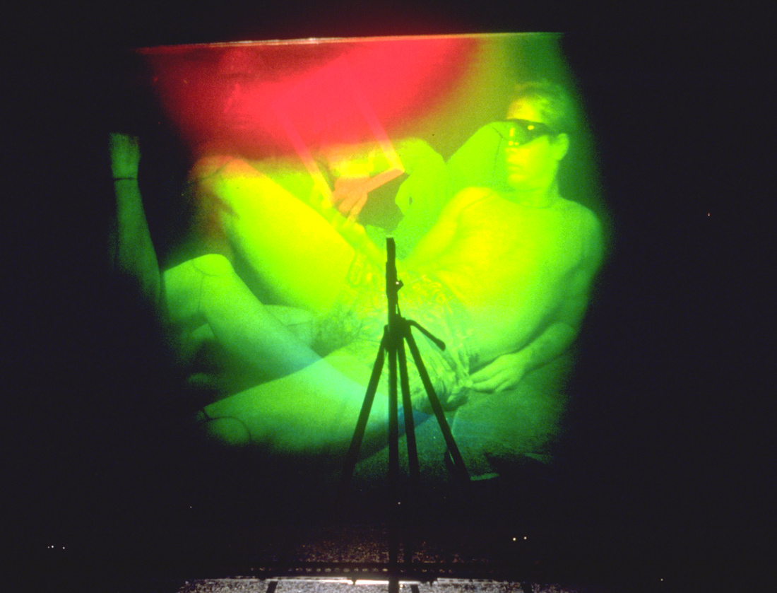 """Aire technoculturelle"", 1991 (hologram No 1)"