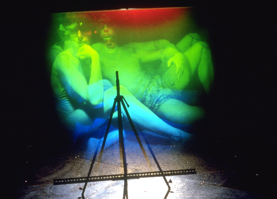 """Aire technoculturelle"", 1991 (hologram No 2)"