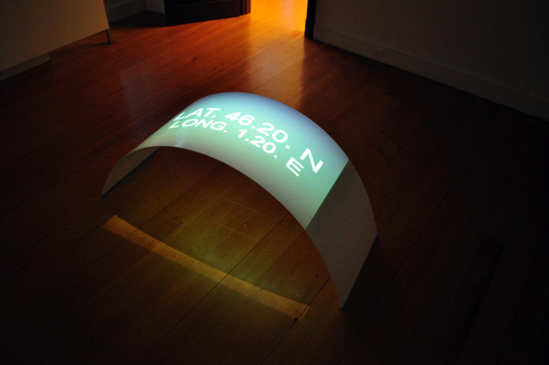 """""""Confluences"""", 2009. Exhibition at the Galerie d'art du Parc, Trois-Rivières, Qc"""