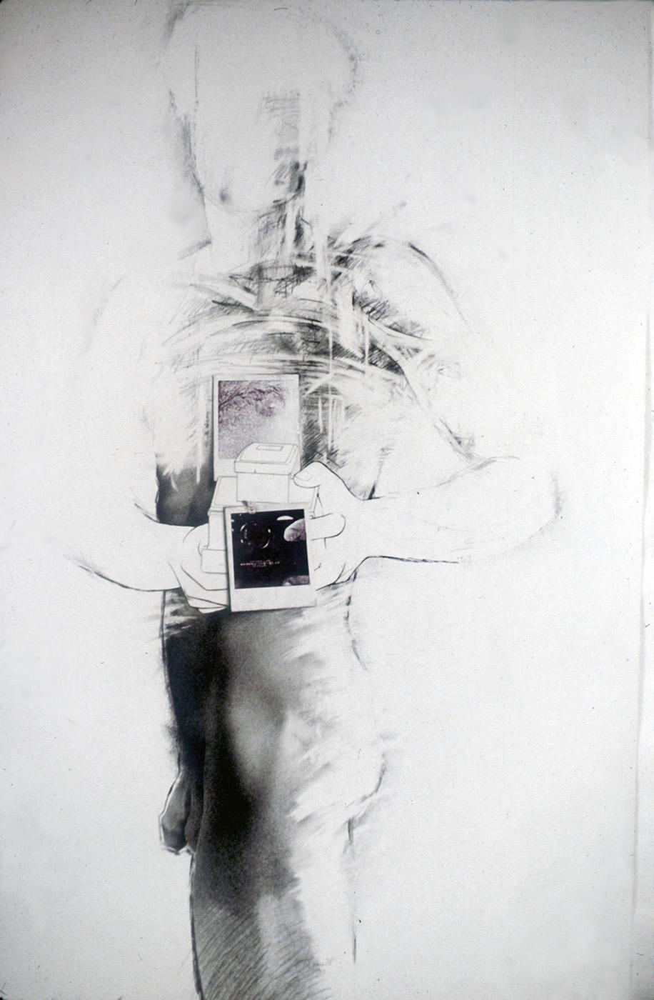 """""""Au regard d'un corps #4"""", 1983  71 x 110 cm"""
