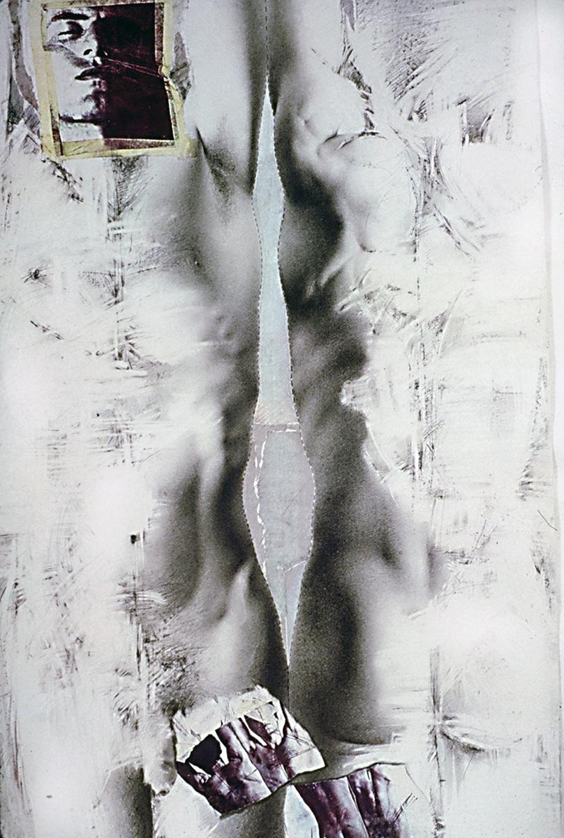 """""""Au regard d'un corps #14"""", 1983  71 x 110 cm"""
