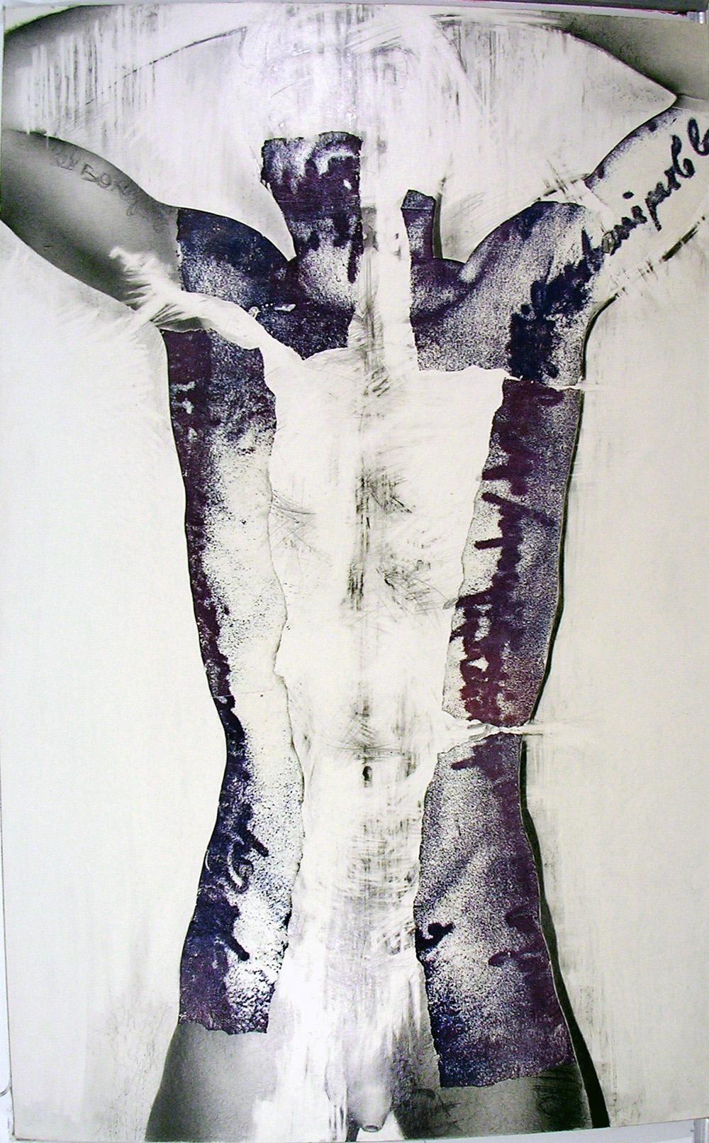 """""""Au regard d'un corps #13"""", 1983 71 x 110 cm"""