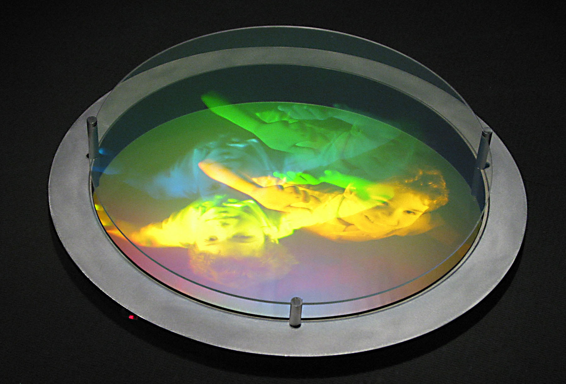 """Efflorescence"", 2002 (Hologram No 2)"