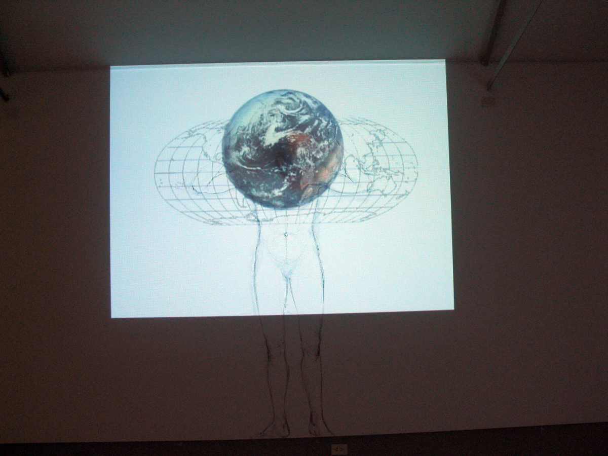«En perdre le nord», 2008 Exposition à la  Galeria Arte & Arte , Buenos Aires , Argentine