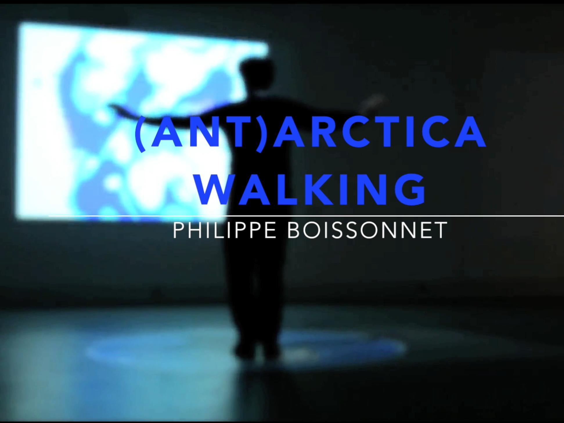 «(Ant)arctica Walking», 2015