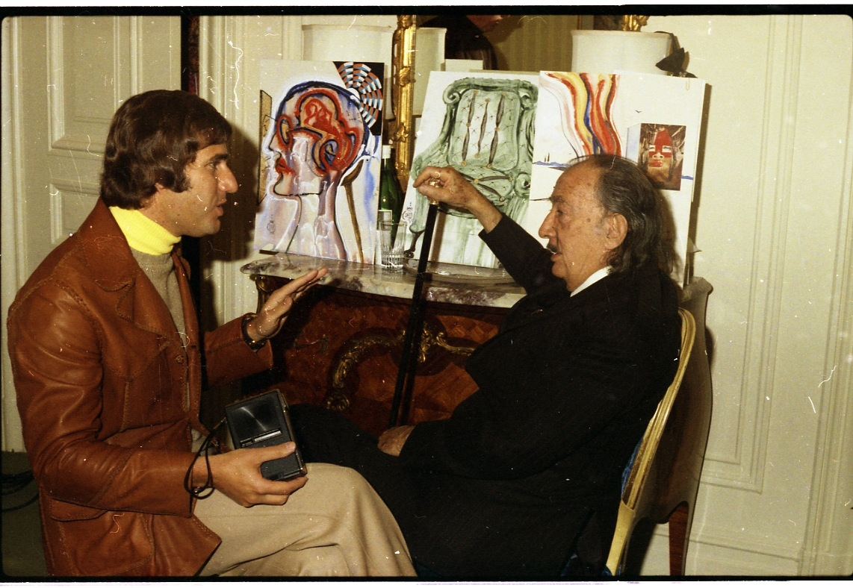 Robert Chase Sr. interviews Salvador Dali, St. Regis Hotel, NY circa 1973