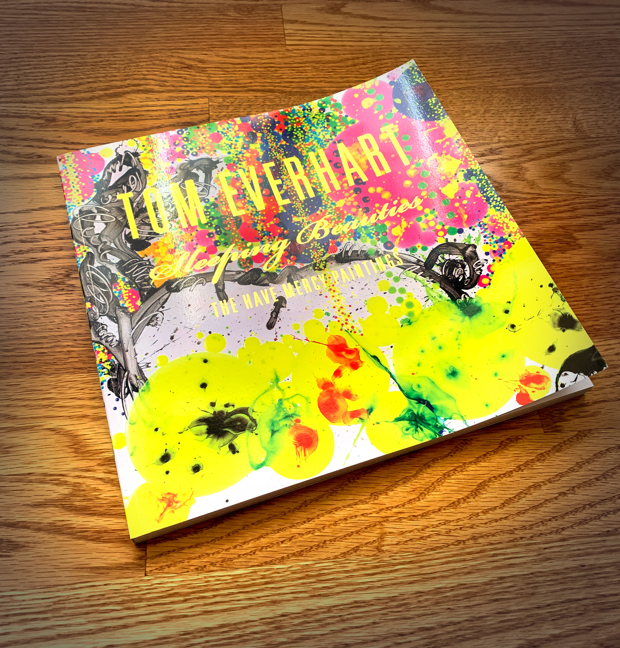 Included with print purchase is a signed and matched number copy of Tom Everhart's newest book  (160 pages)   Sleeping Beauties; The Have Mercy Paintings.  A $125 value.