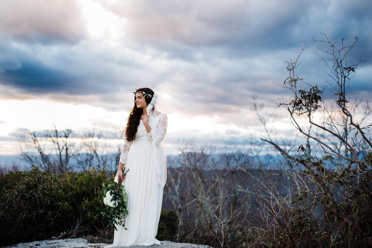 Gorgeous photo by Summer Mast Photography. Veil by Blanca Veils.