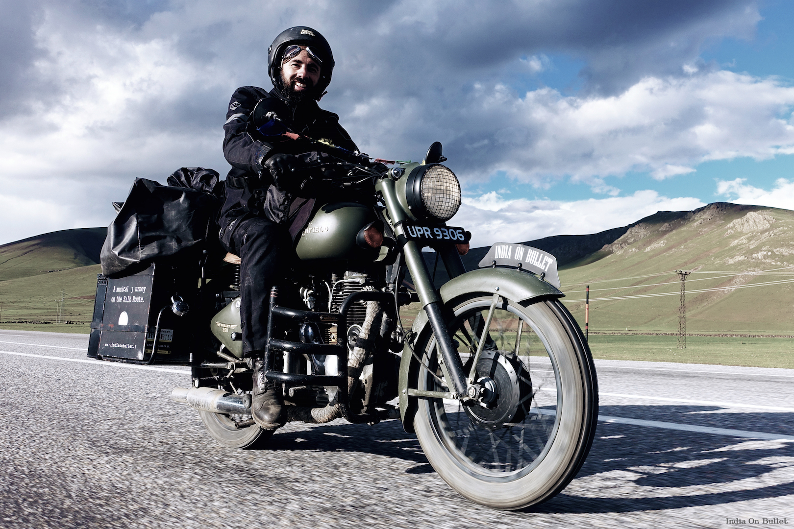 18.      On the Roads of Kurdistan .    Kars, Turkey.    60cm x 40cm,   aluminium support, €56.00   ( Shipping Fee included)