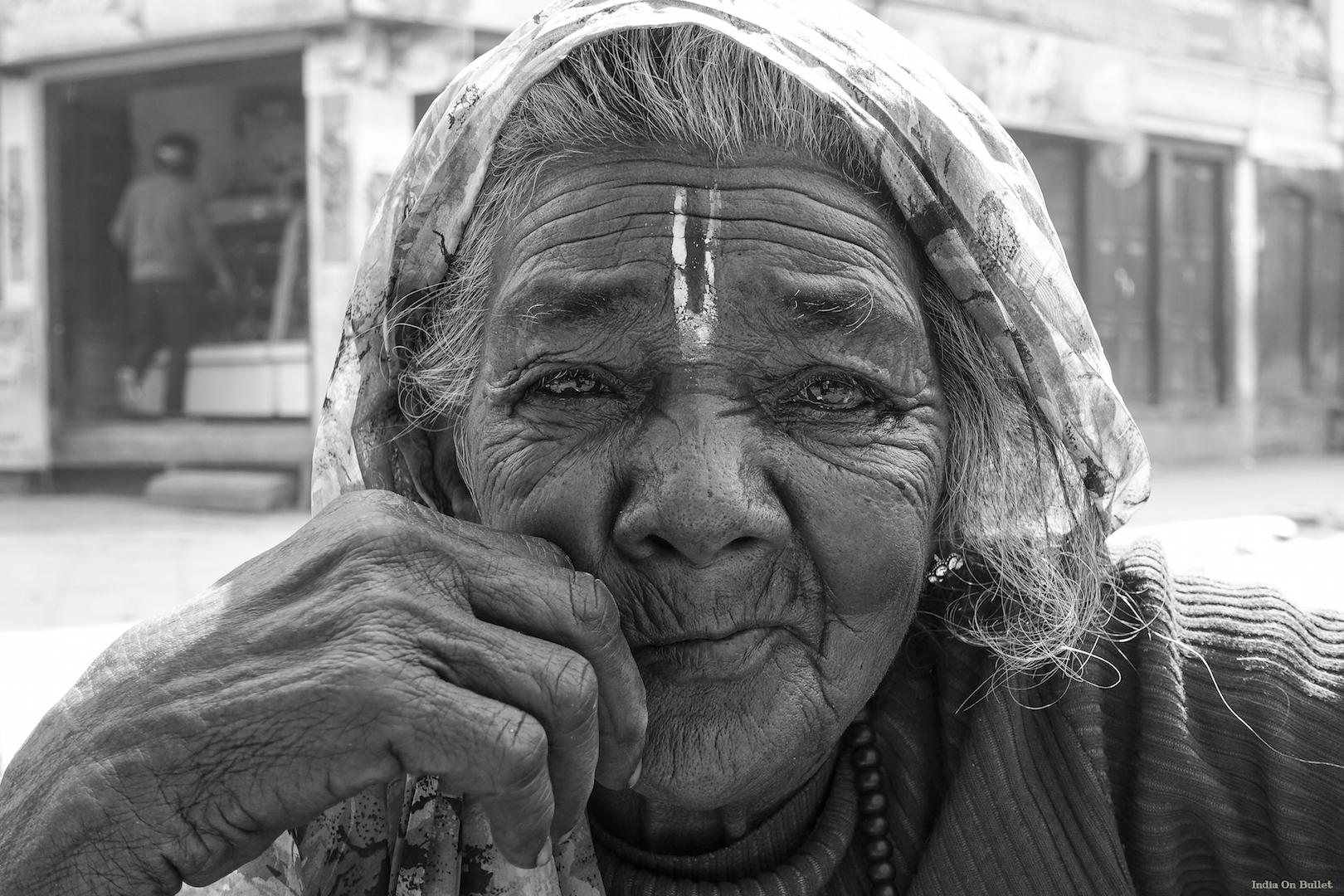 24.      Eloquent Wisdom .    Kathmandu, Nepal.    90cm x 60cm,   aluminium support, €122.00   ( Shipping Fee included)