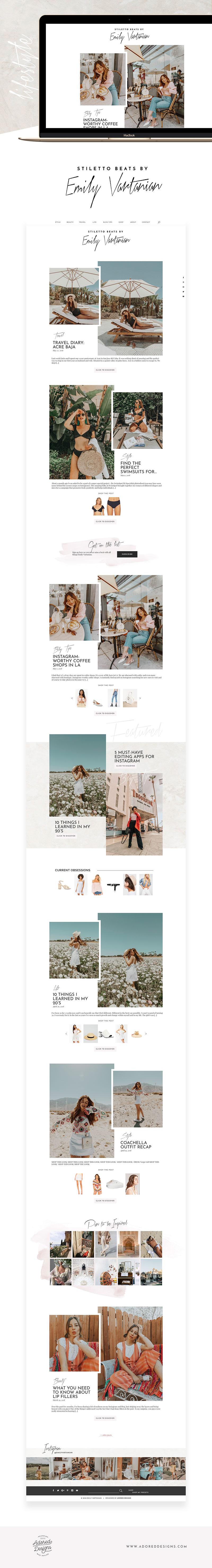 Aleksandra Rogala-Jacek | Emily Vartanian | Adored Designs | Creative Lady Directory