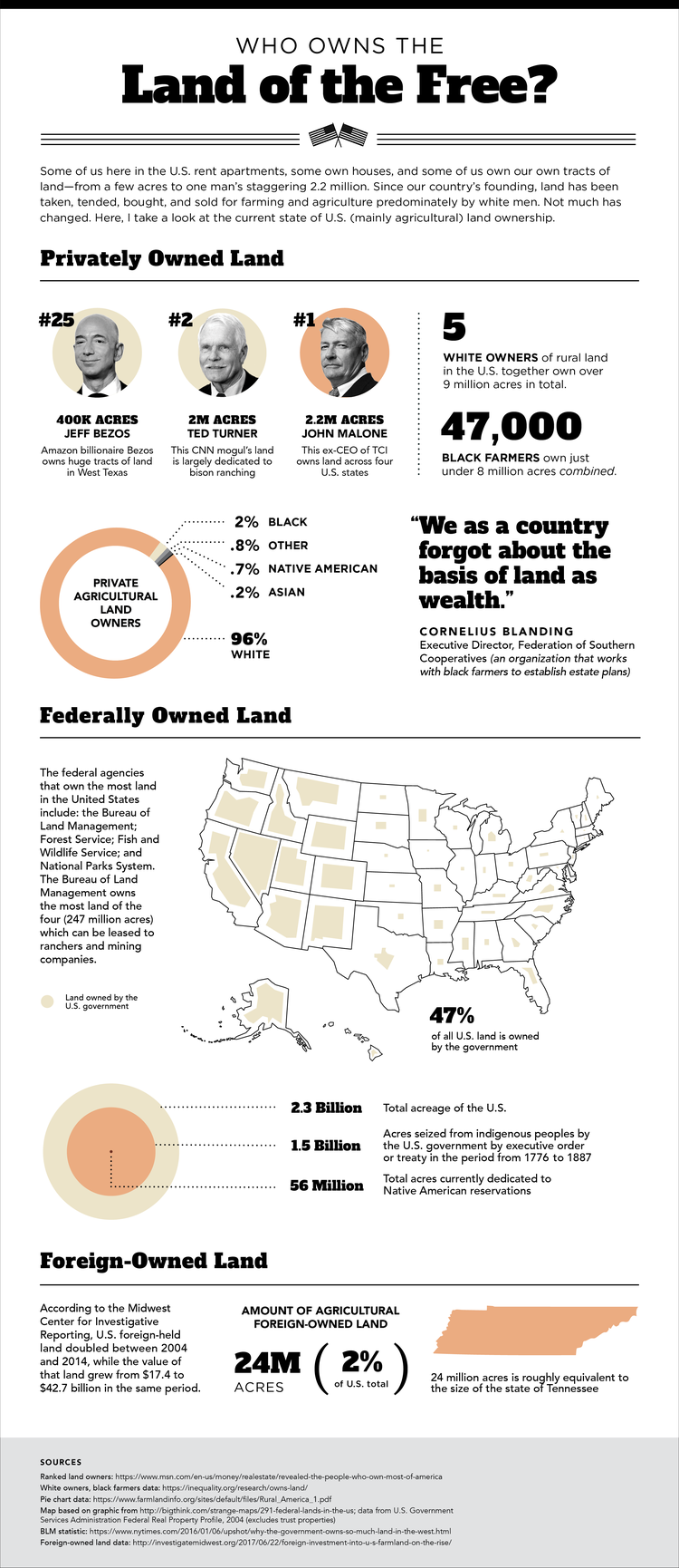 Susannah Hainley | Land of the Free Infographic | Creative Lady Directory