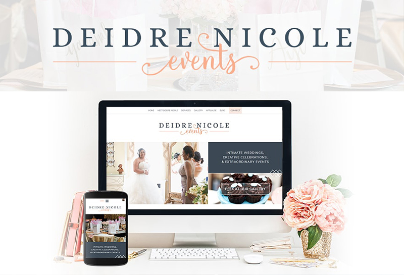 Brittany and Ashley Streck | Twingenuity Graphics for Deidre Nicole Events | Creative Lady Directory