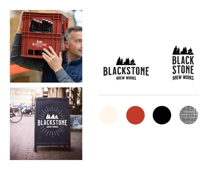 Danielle Hunter | Blackstone Brewery Branding | Creative Lady Directory