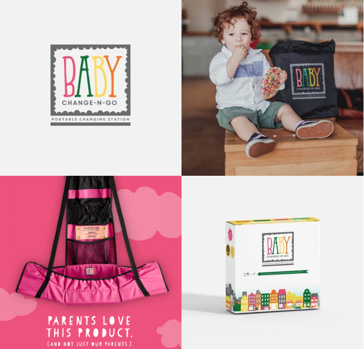 Heart + Matter | Baby Change-N-Go | Creative Lady Directory