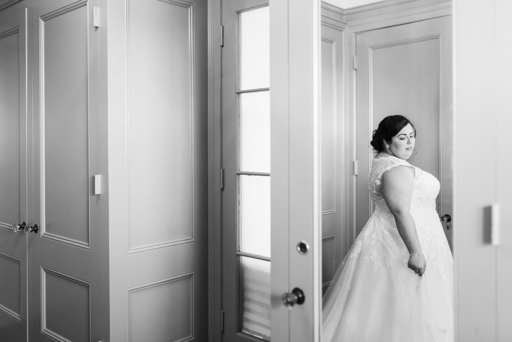"""Caitlin + Marcus - """"Cheyenne did my wedding photos, and I could just gush over how amazing she was! She made me feel incredibly comfortable the entire time we did the photos, made me feel like I was heard, and most of all, she helped me feel so beautiful.She showed up early to our venue and took some phenomenal photos! My husband and I are so happy with our photos, and we would choose Cheyenne again if we had to do it all over. I plan on using her for my photography needs from now on."""" Married March 2018"""