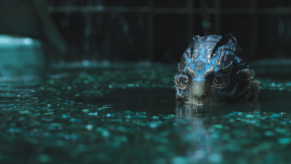 Screenshot from Guillermo del Toro's  The Shape of Water.