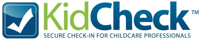 Please click the KidCheck logo to setup a check-in account. You will be required to check in your child at the check in kiosk.