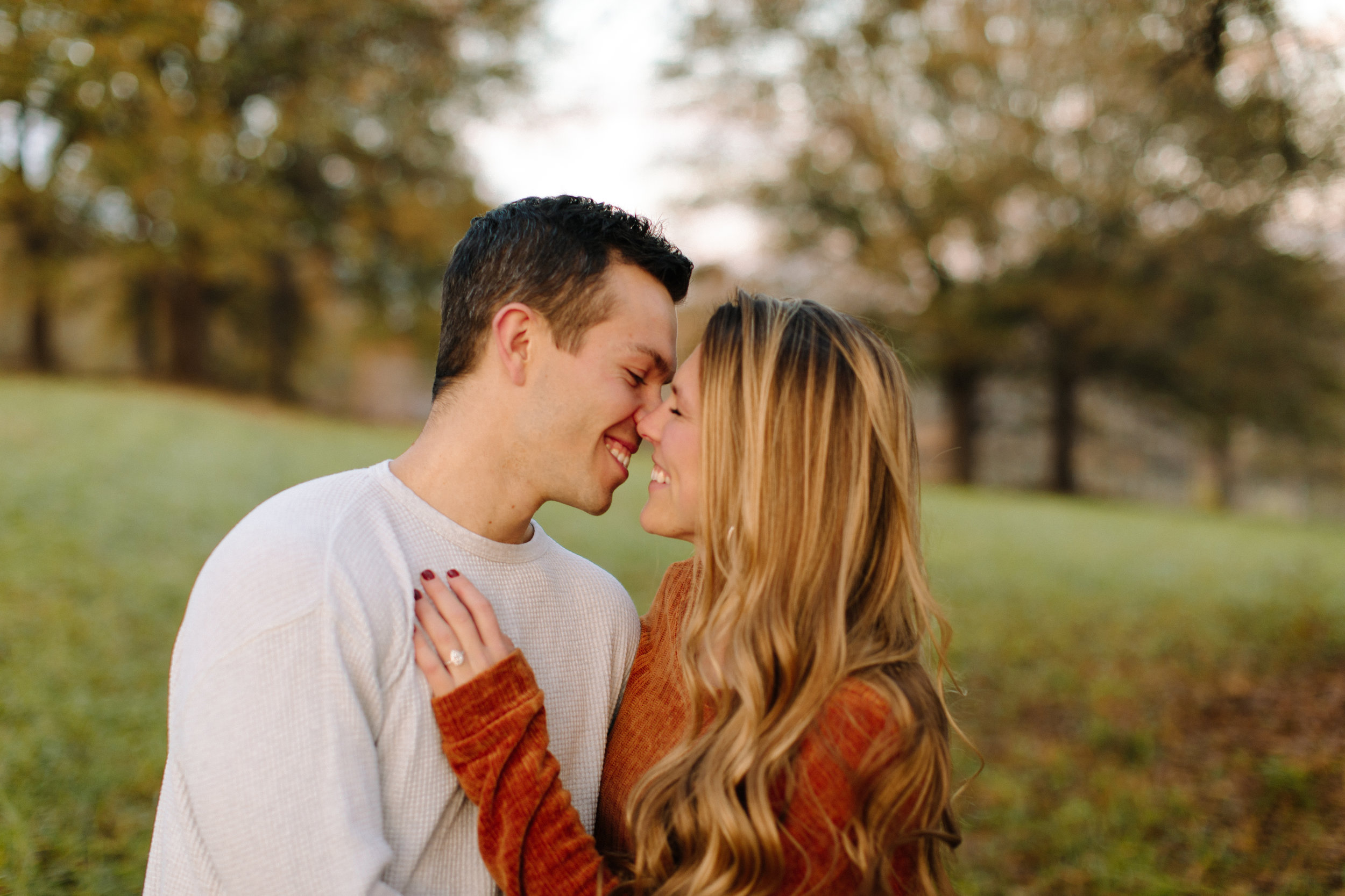 sunset-field-outdoor-romantic-engagement