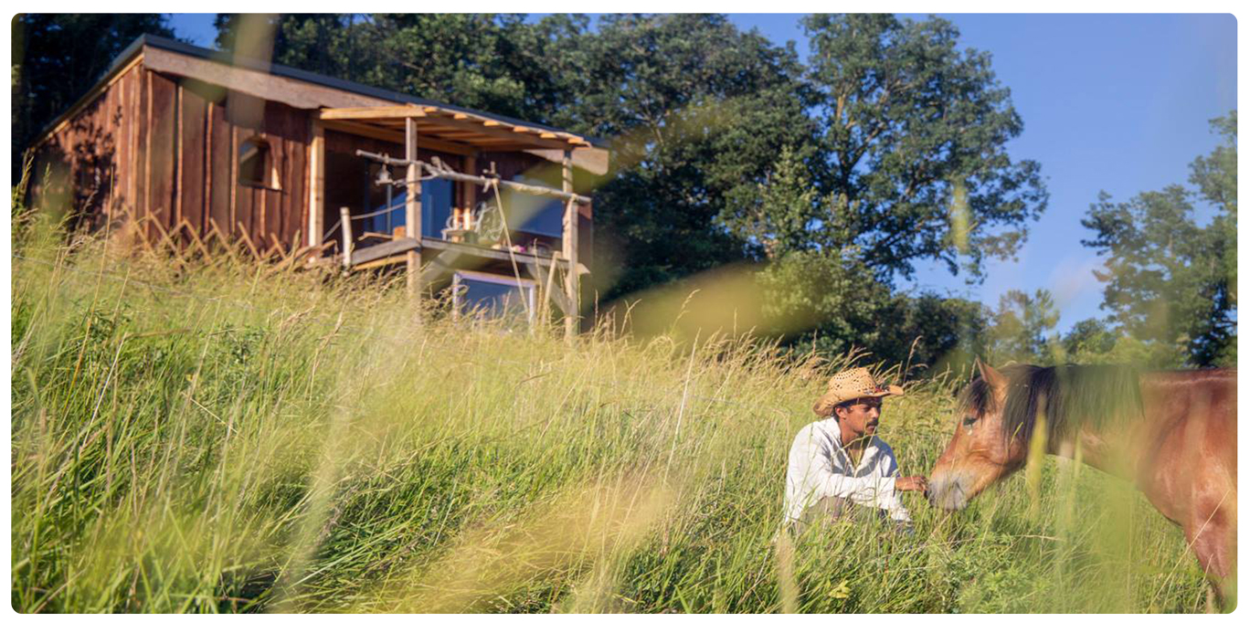 Ma petite maison dans la prairie au Village de Pourgues.