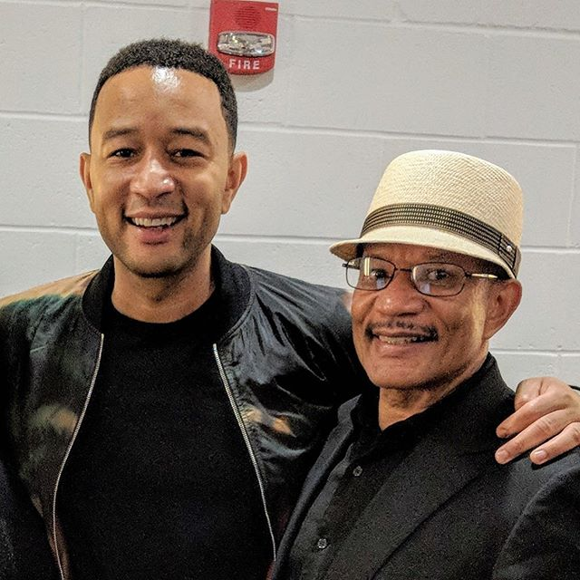 With fatherly pride, I'm pleased to witness the integrity you have shown. Thank you @johnlegend for coming home to be with the many of us who are grieving in Dayton and across Ohio. You have taken a stance for humanity and backed it with action. We support you wholeheartedly! — Popz