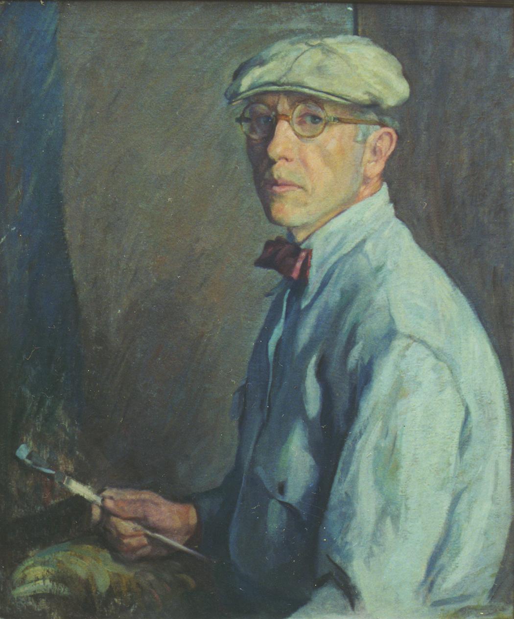 Self Portrait with Brush