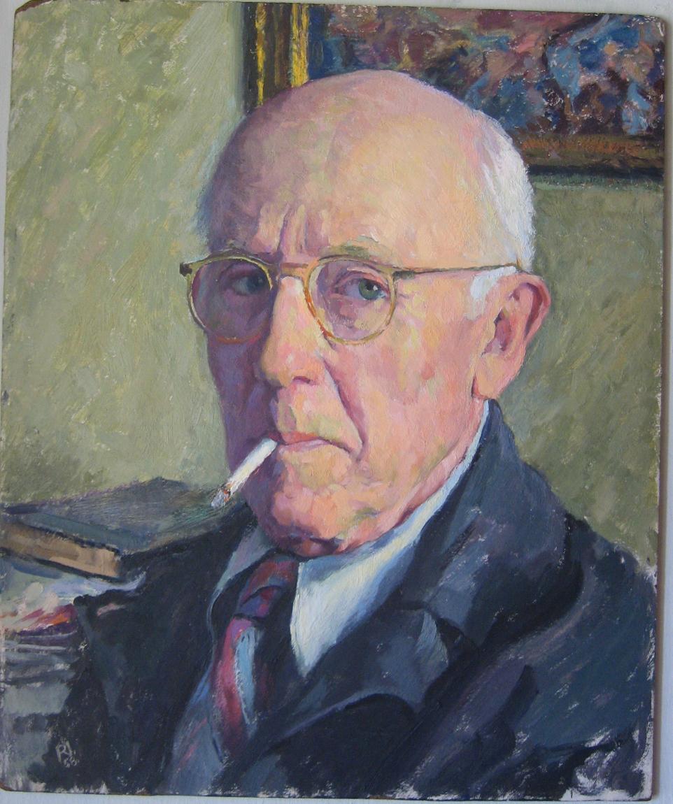 Self Portrait with Cigarette