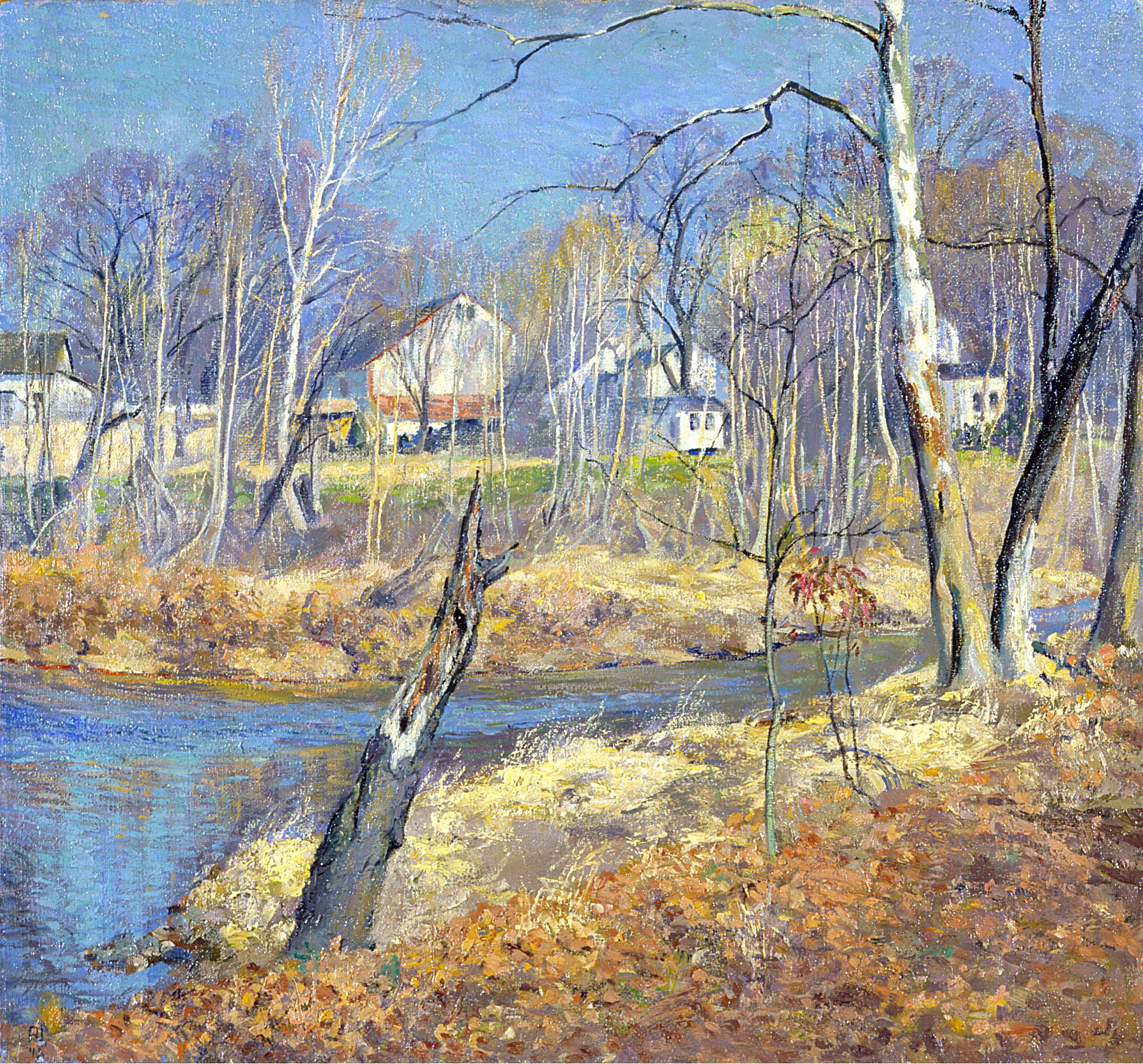 Neshaminy Creek by the Cox Farm