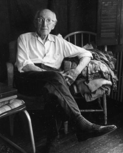 Roy C. Nuse, photo: Robin Nuse, c. 1972