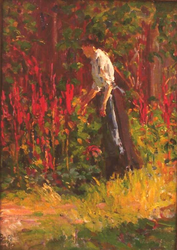 Jack Painted in Oberlin