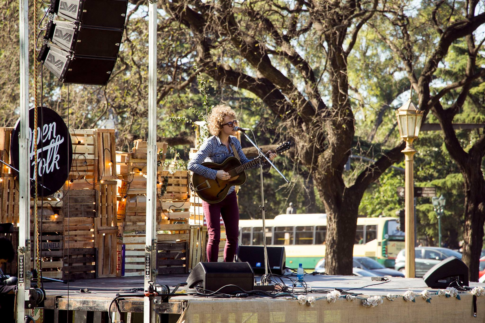 EKB live at the Open Folk Festival in Buenos Aires, Argentina. Her upcoming release The Gradient Album will be recorded in South America.