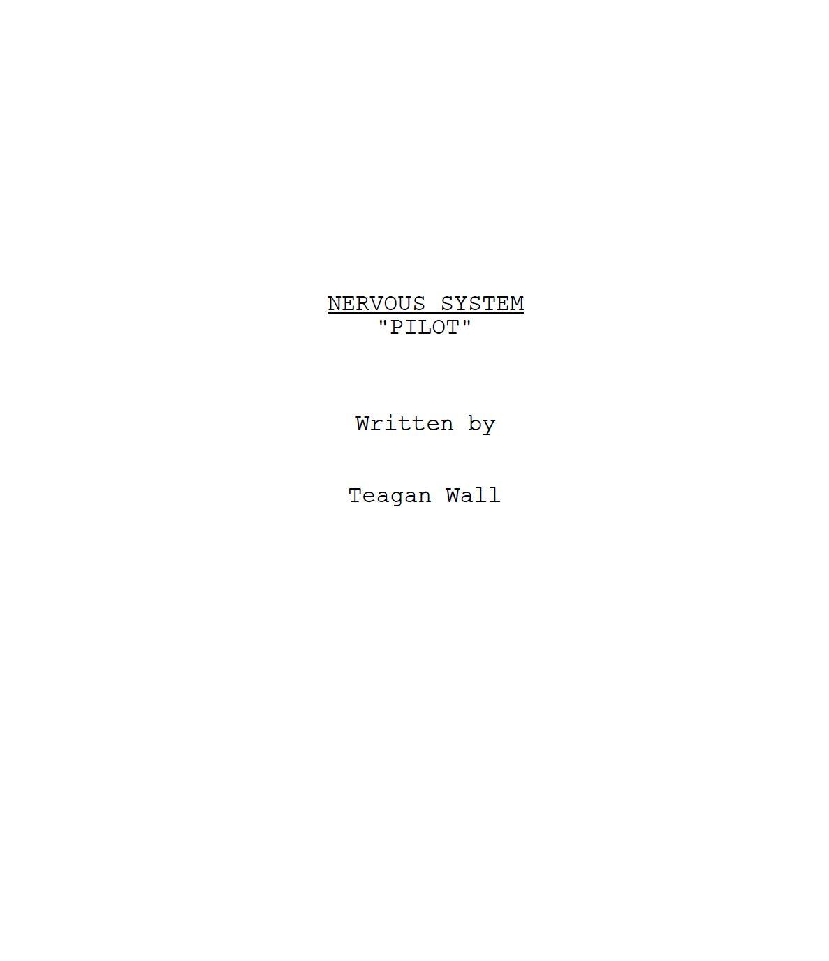 Nervous System title page.JPG