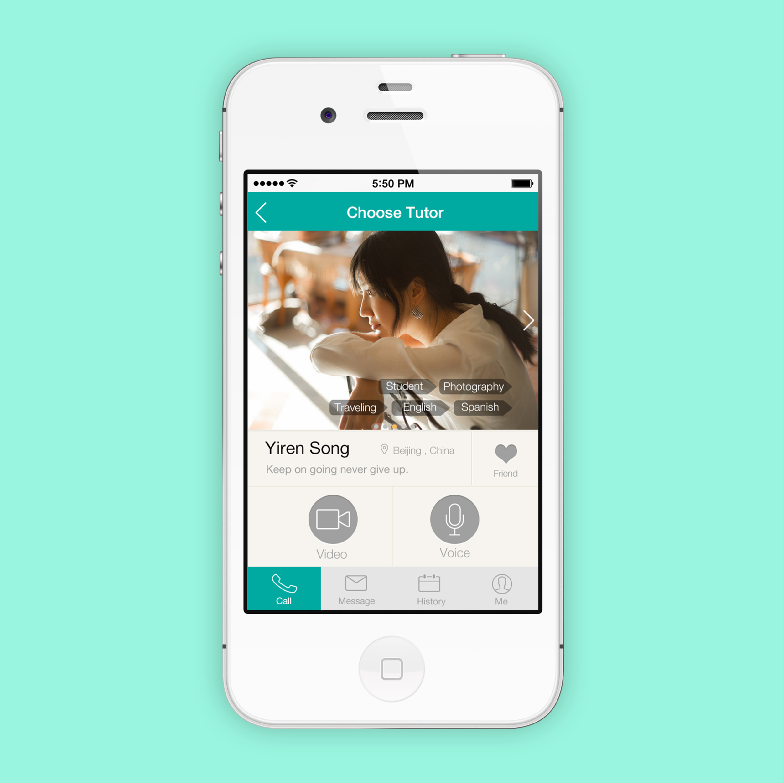 LinGoChat   Language Learning App Design