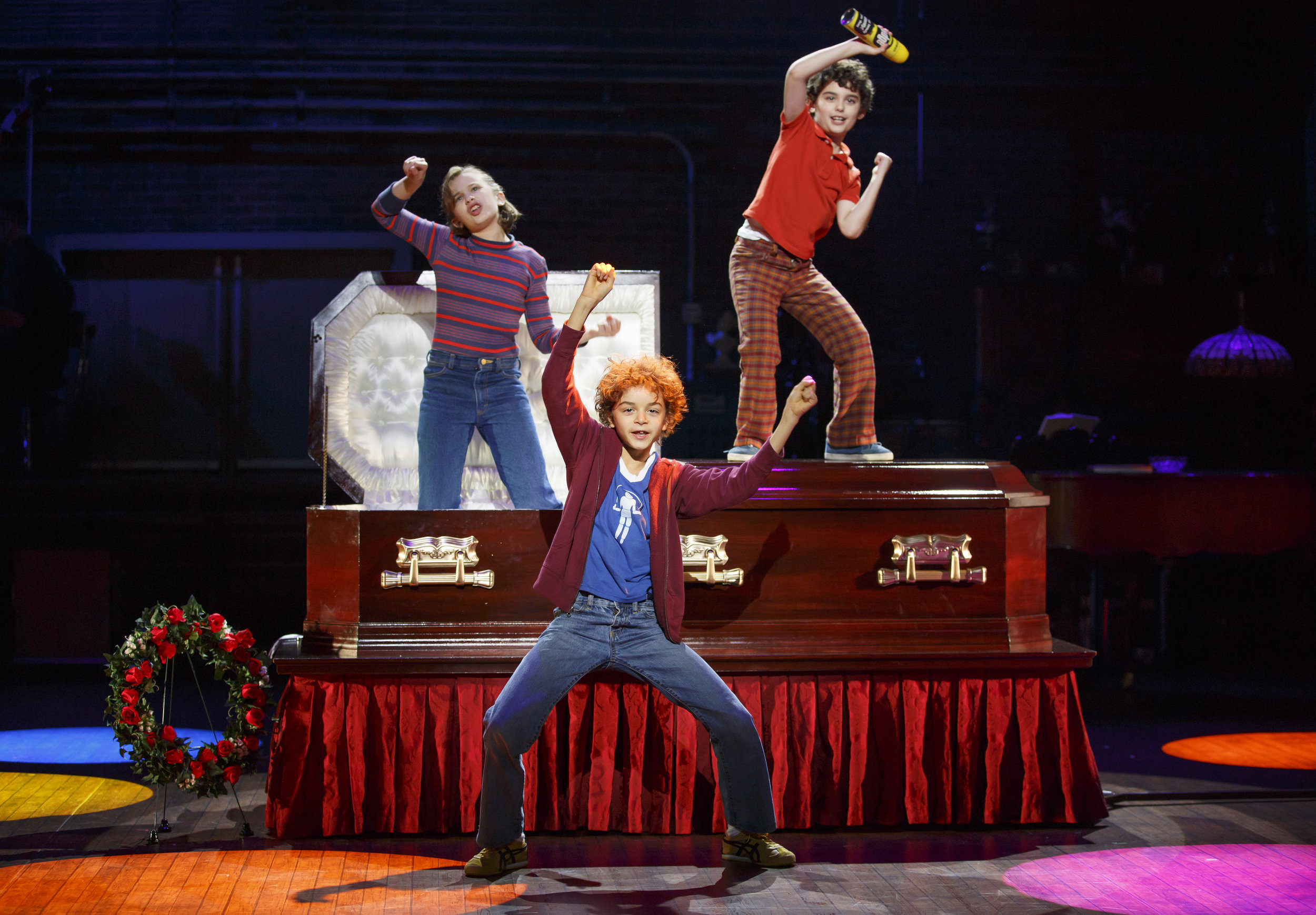 Unexpectedly one of my favorite scenes. These kids are beyond adorable and wholeheartedly invested in putting the fun in  Fun Home . It's a treat to watch them having such a great time. And their 70s inspired dance moves are AH-mazing!