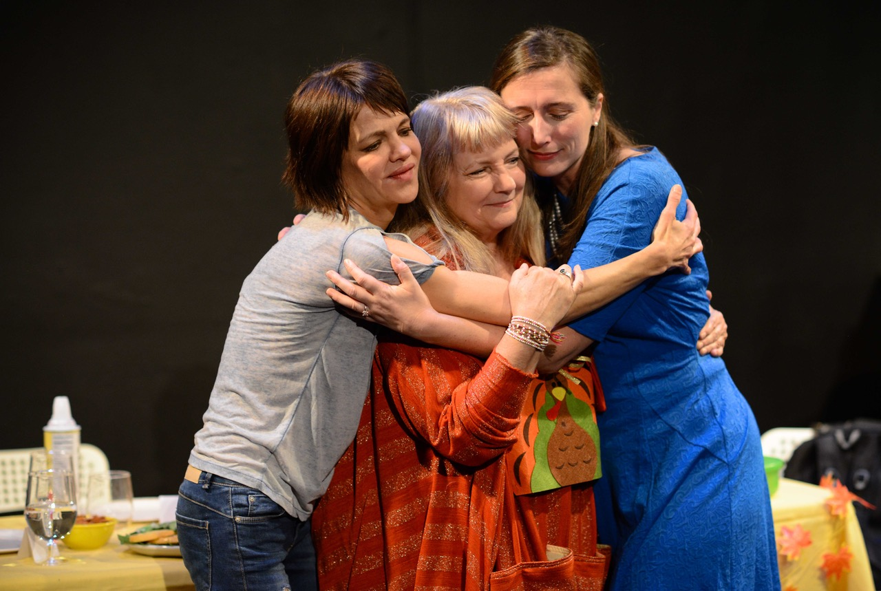 Susan Louise O'Connor, Sharon Spence and Allison Youngberg (Photography by Cali Bloomfield