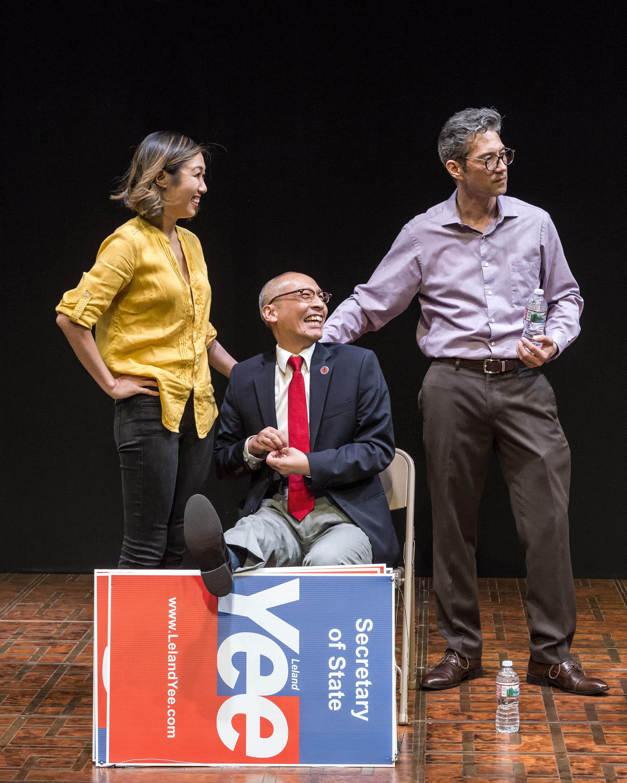 Angela Lin, Francis Jue and Daniel Smith