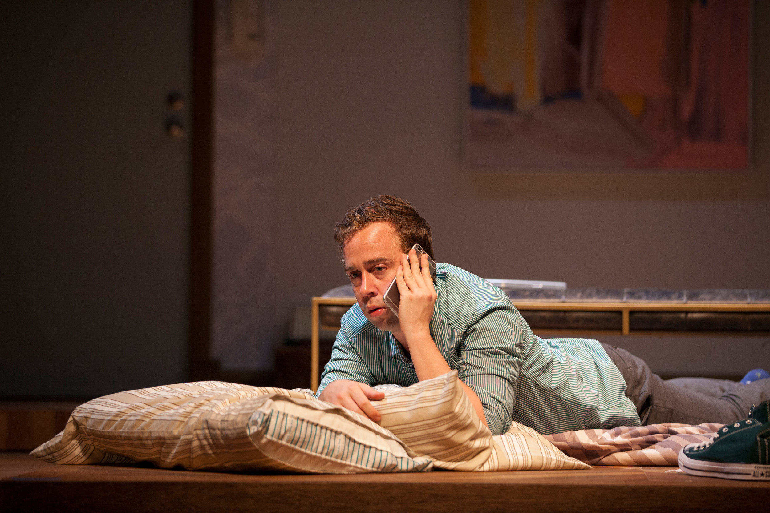 Will Von Vogt stars in the Geffen Playhouse's production of Significant Other. Photo by Chris Whitaker.