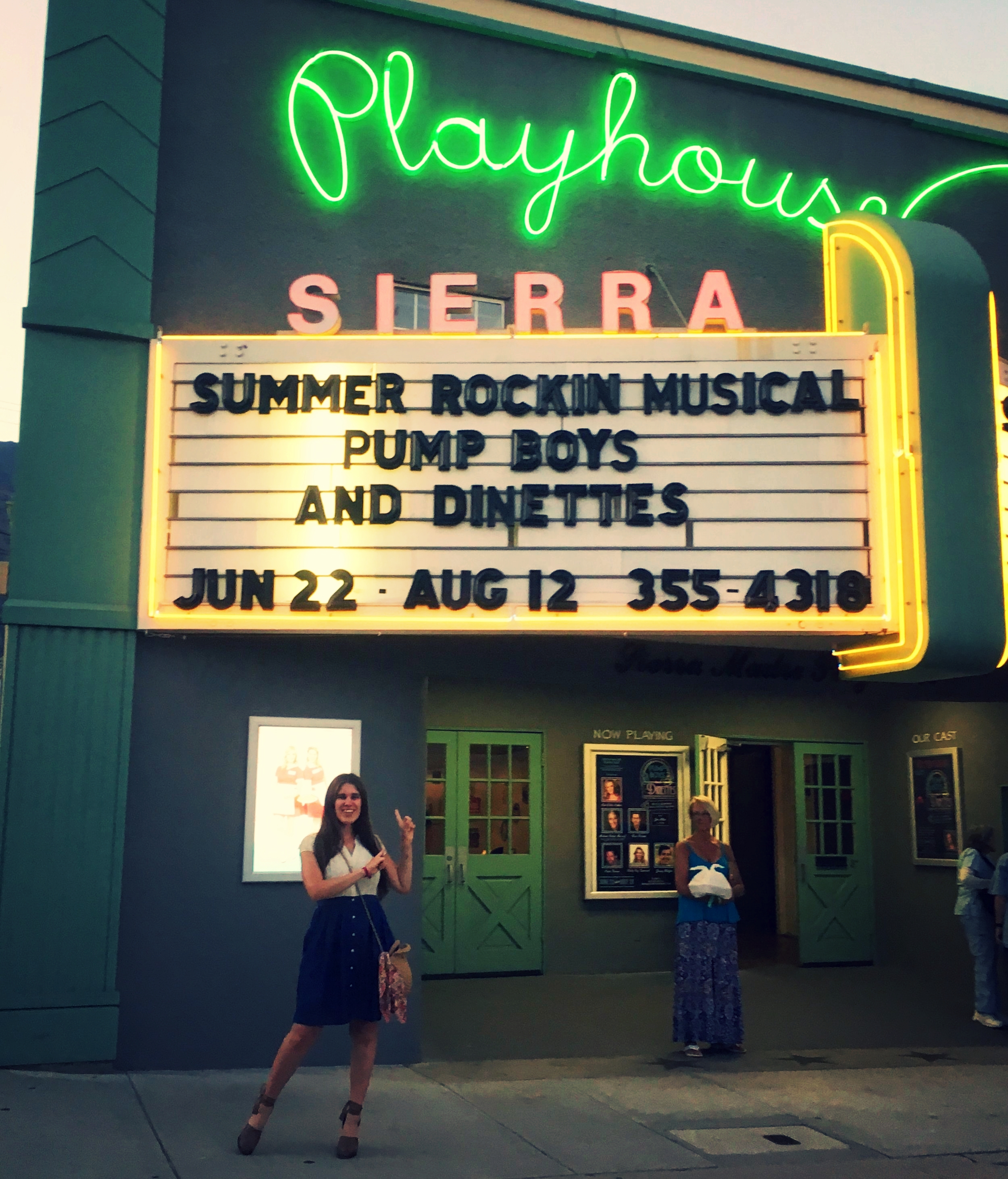 I mean really, is there a cuter marquee in SoCal?