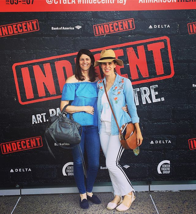 """Just two champions of the American theatre about town. First stop @thebroadmuseum for the powerful """"Soul of a Nation"""" exhibition and then @ctgla for the also powerful yet extremely different """"Indecent,"""" finally! #lathtr #latheatrenerd #theatrenerd #theatrestyle #modernart #moderntheatre #paulavogel #theatre"""
