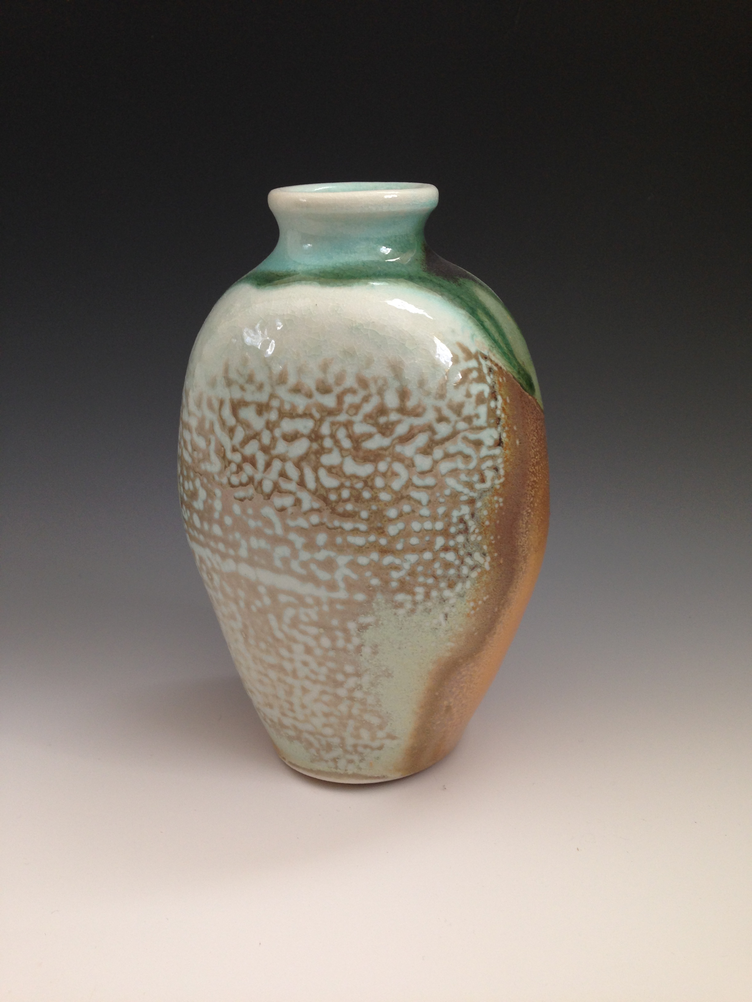 Soda fired bottle
