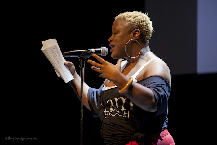 Alise at  Get Some Joy: A Blackstravaganza for Mental Health Awareness  @ The Schomburg Center, NYC
