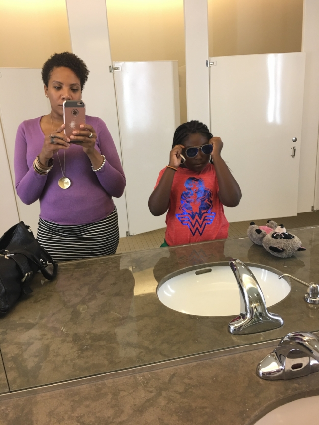 me and the ladyBug.