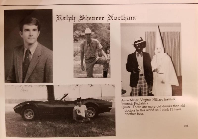 Future Virginia Governor and Definitely Neither A Klansman Nor Dude in Blackface, Ralph Northam