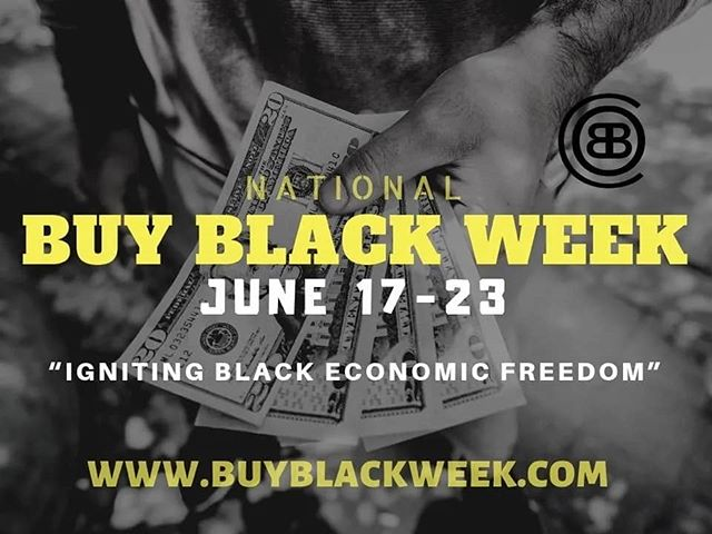 Let's run it up. Tag a #BlackOwnedBusiness. #BlackExcellence #BuyBlackWeek