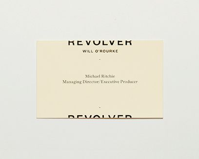 Revolver by Will O'Rourke