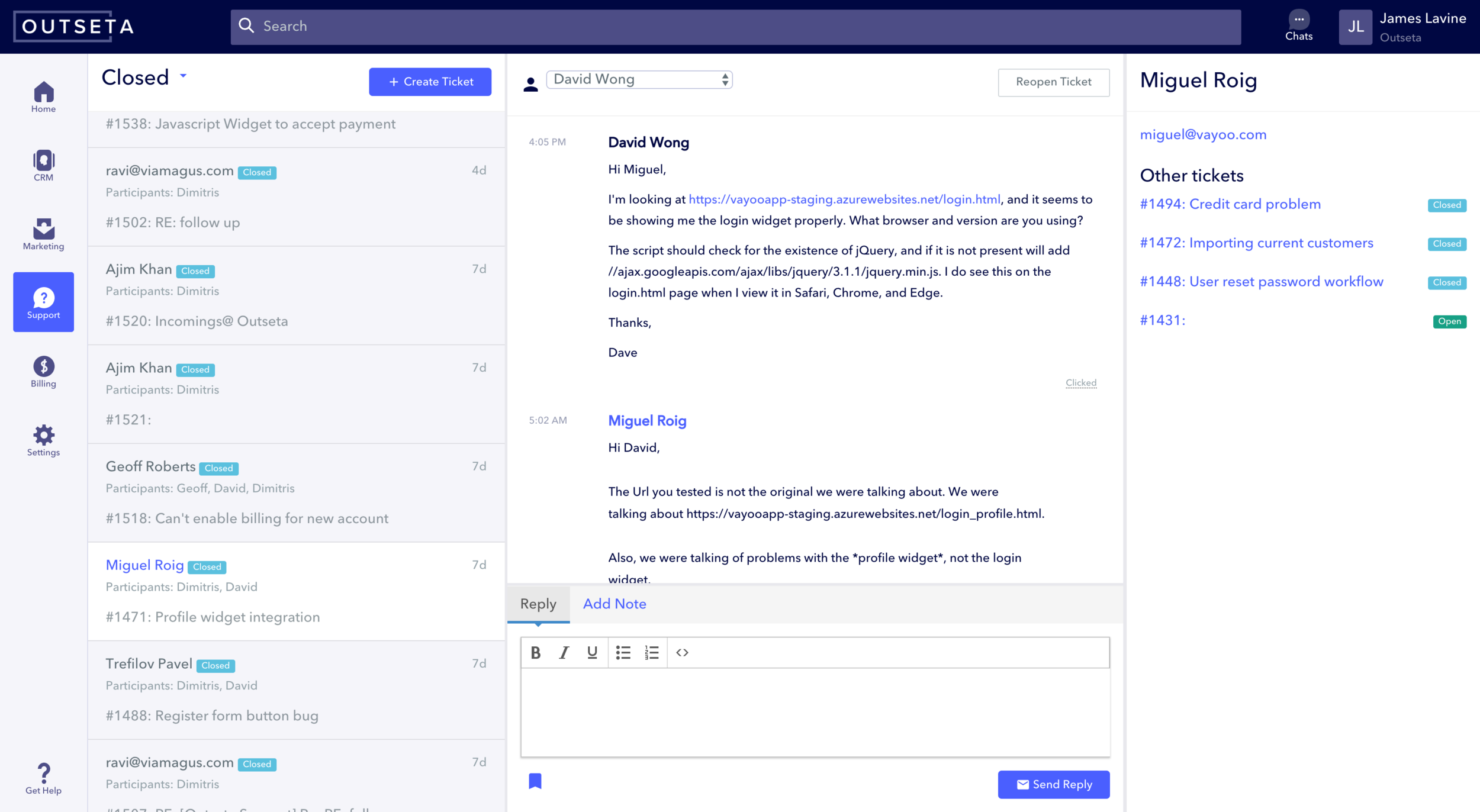 Help desk tools - Receive, assign, and respond to customer service requests with our customer support ticketing system. Your responses will automatically appear as a personalized email in any email client.Provide searchable