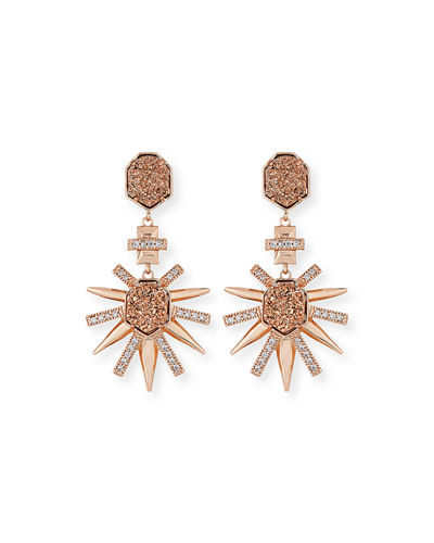 Kendra Scott Allie Statement Earrings - These gorgeous colors will take any look to the next level.