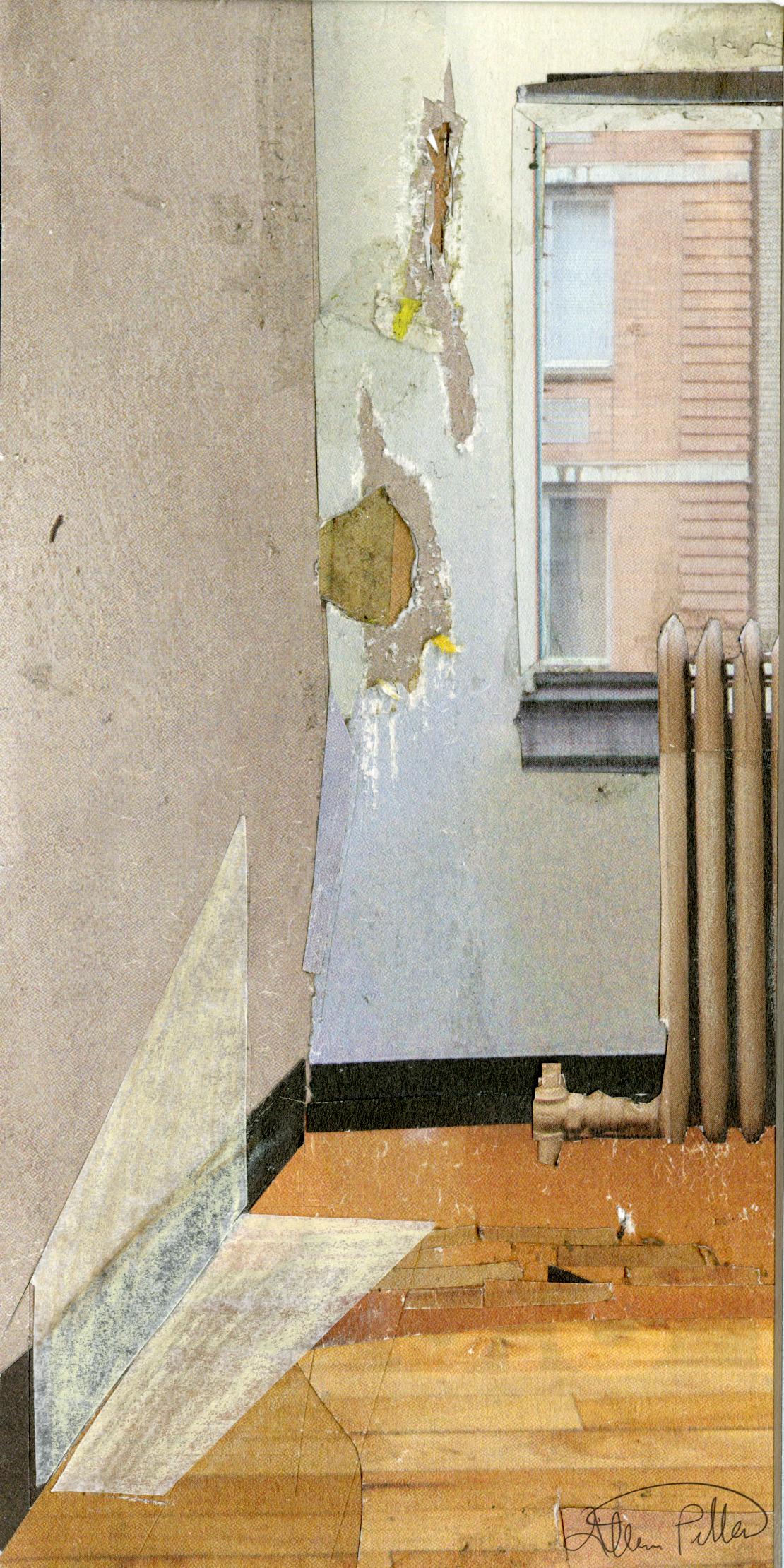 "Window  2016,  Collage, 3.75"" x 7.5"""