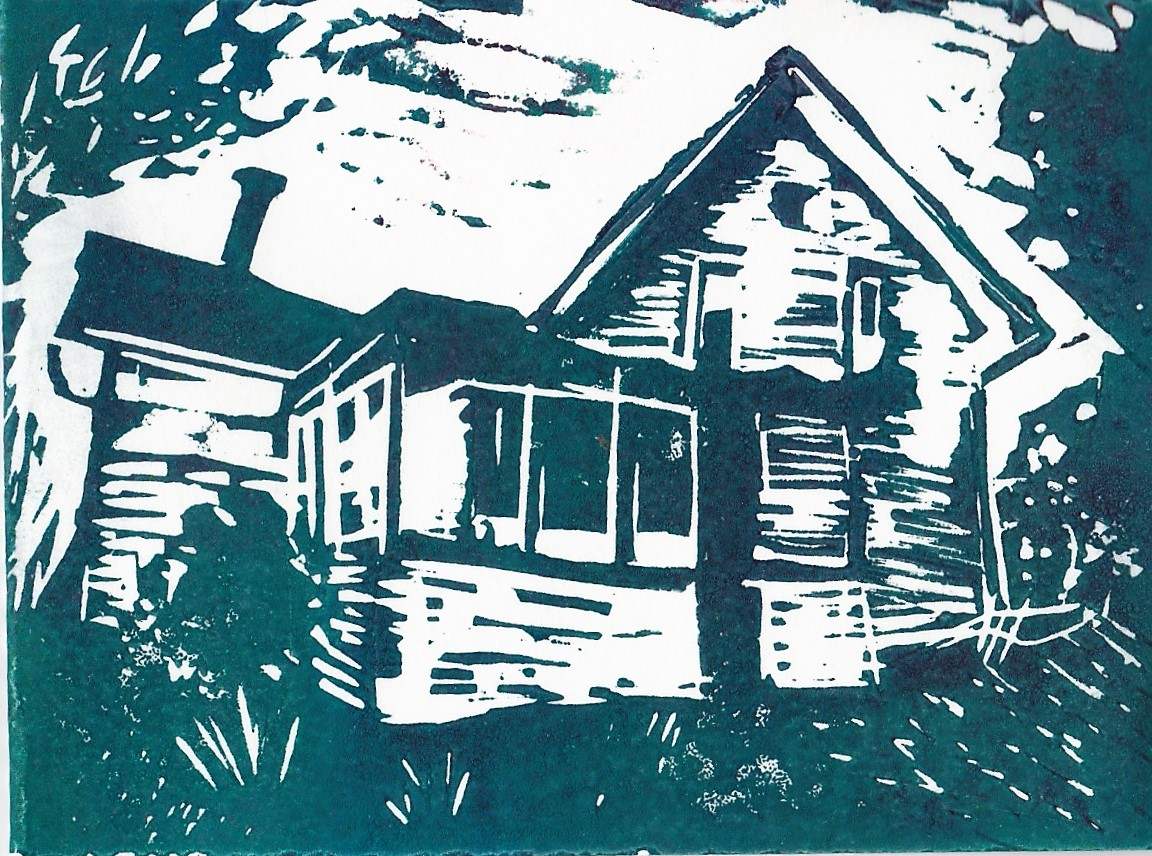 """1 of 1 """" House"""" 2018 3""""x4"""""""
